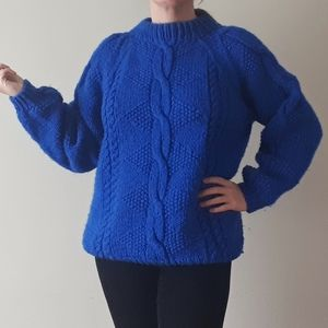 Sweaters - Handmade Chunky Cable knit Sweater
